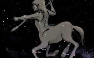 Созвездие Центавр и его тройная система
