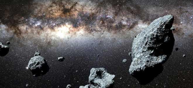 Каменный астероид Гаспра