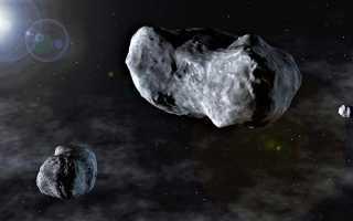 Скорость астероида и движение самых крупных из них