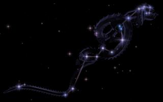 Созвездие Гидра — самое большое созвездие
