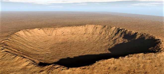 Самый большой кратер от метеорита