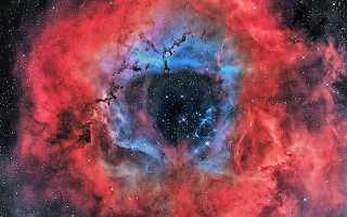Виды космических туманностей