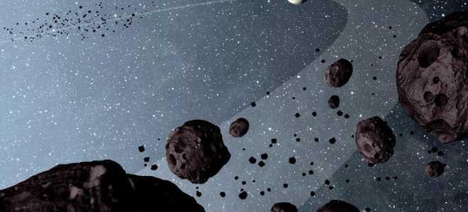 Молодой астероид Рюгу