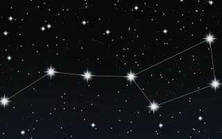 Созвездие Большая Медведица, пожалуй, самое знаменитое созвездие