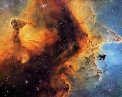 Самая большая туманность во Вселенной