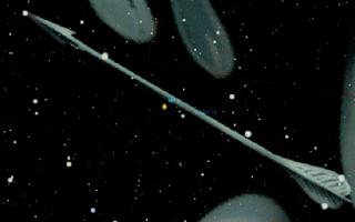 Созвездие Стрела, пронзившая орла Зевса