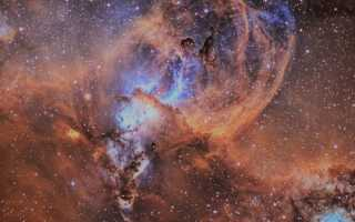 Туманность Киля (NGC 3372)