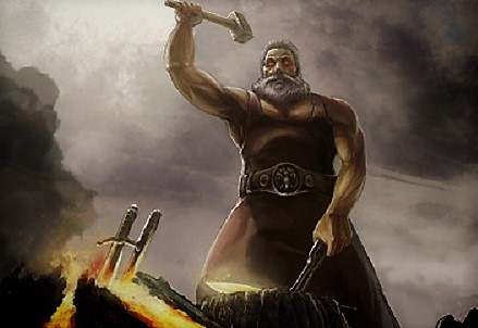 бог-кузнец Сварог