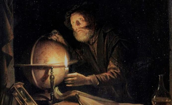 Астроном в живописи