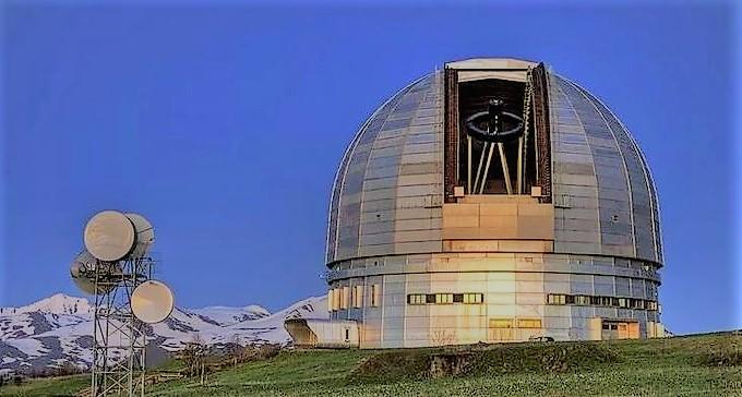 Большой телескоп азимутный БТА