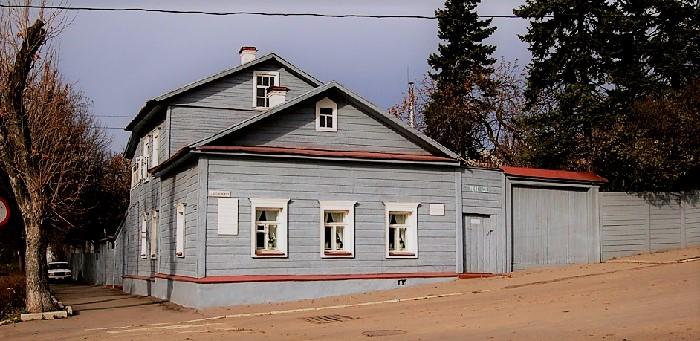 Дом К.Э. Циолковского