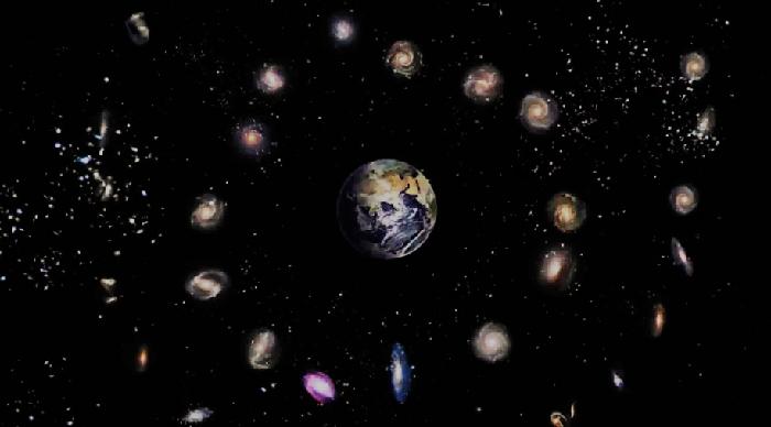 Геоцентричная модель Вселенной