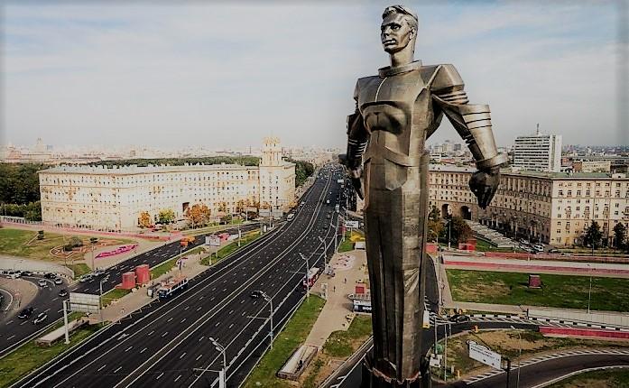 Памятник Юрию Гагарину в Москве