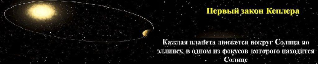 Первый закон Кеплера