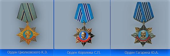 Российские награды Федерации космонавтики