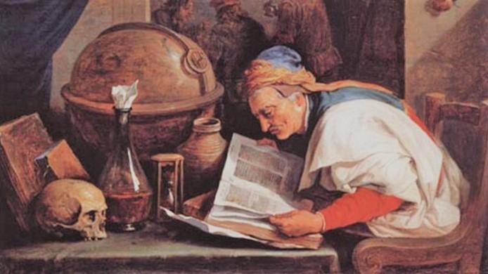 Учёный средневековья