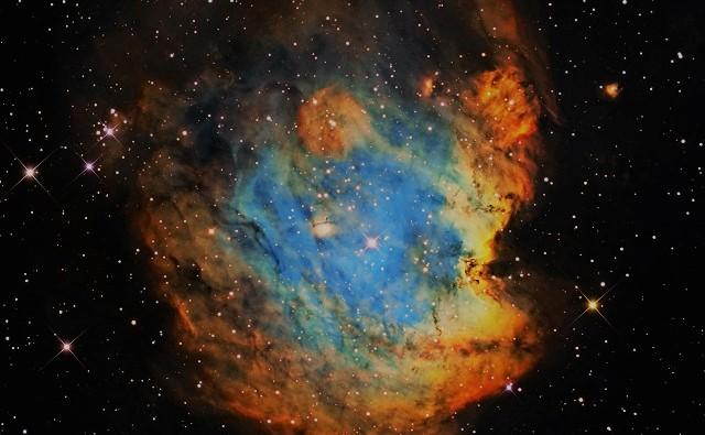 Диффузная туманность NGC 2174
