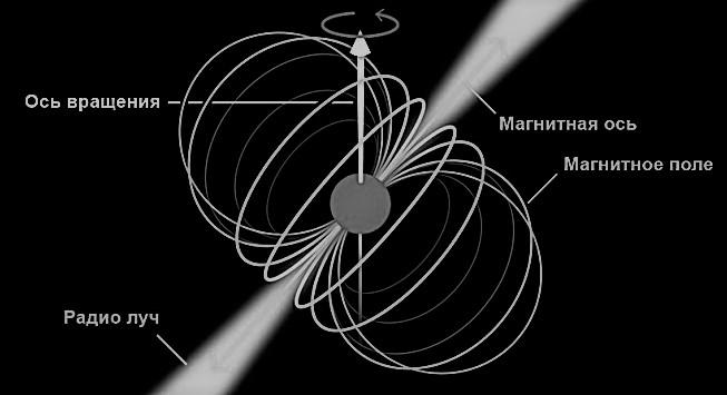 Магнитное поле нейтронной звезды