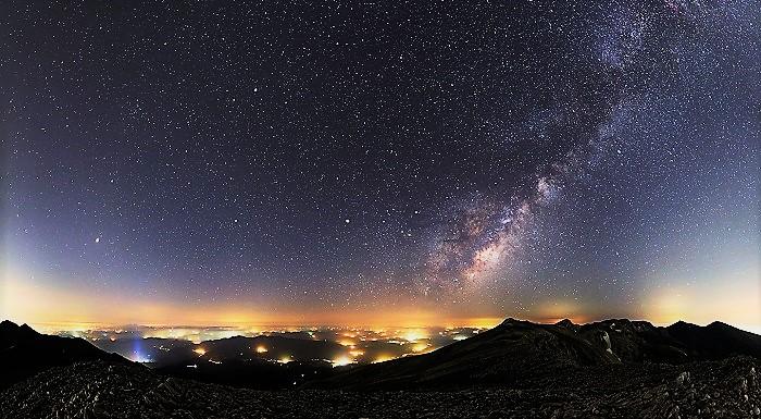 Млечный путь с Земли