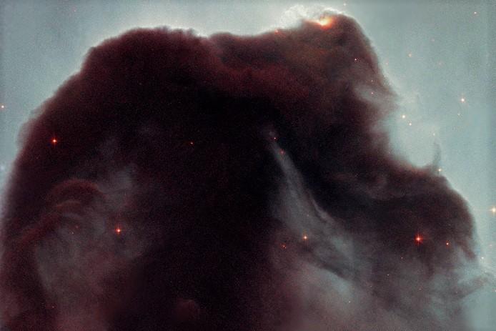 Туманность Конская Голова (фото с Хаббла)