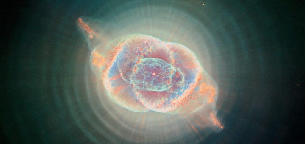 Туманность Кошайчий глаз (фото Хаббла)