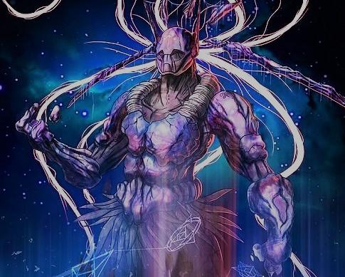 Божественное существо Рехуа (изображение)