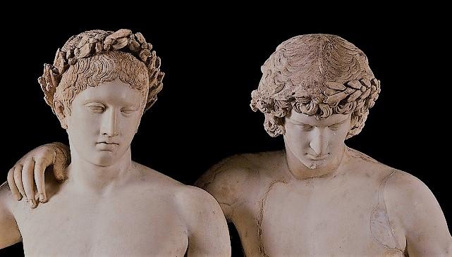 Братья Диоскуры Кастор и Полидевк (скульптура)