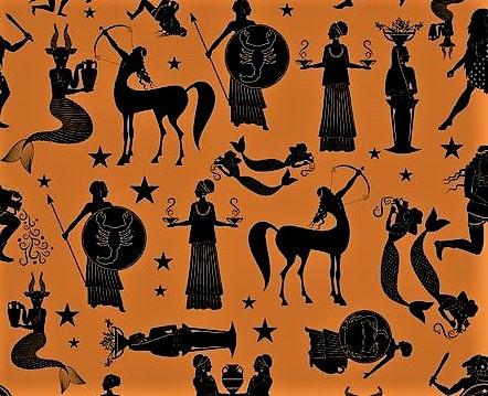 Древнегреческие изображения знаков зодиака