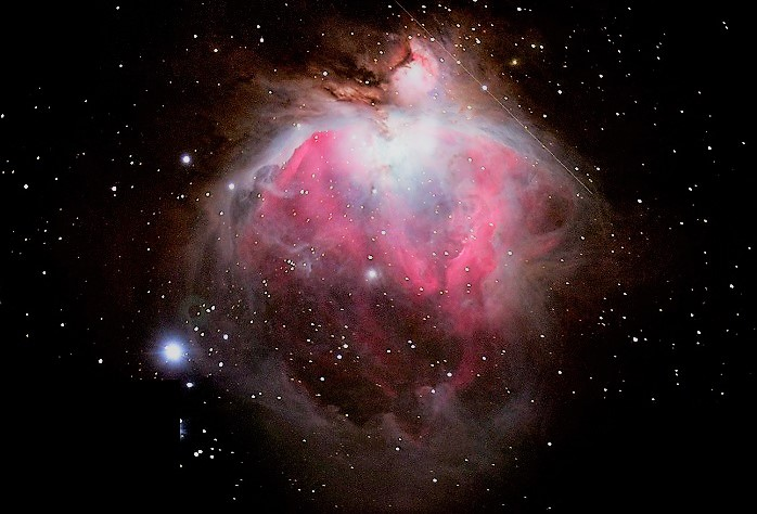M42 туманность Ориона (диффузная туманность)