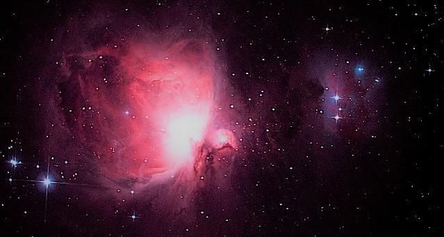 M42 туманность Ориона