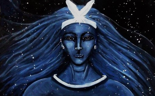 Сопдет богиня - олицетворение звезды Сириус (рисунок)