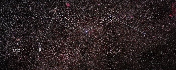 Созвездие Кассиопе́я (лат. Cassiopeia)