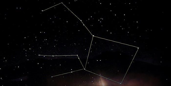 Созвездие Пегас (созвездие осеннего неба)
