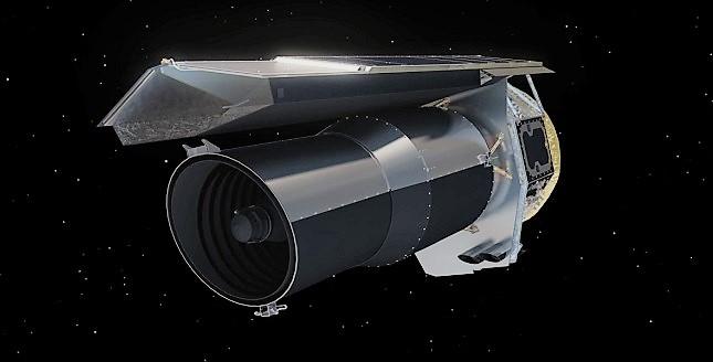 Спитцер космический телескоп