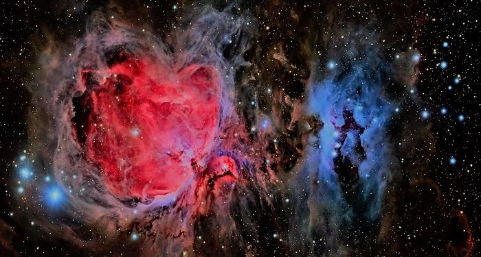 Изображение туманности Ориона