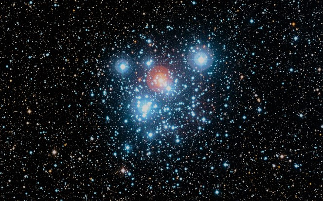 Скопление NGC 4755 или Шкатулка с драгоценностями