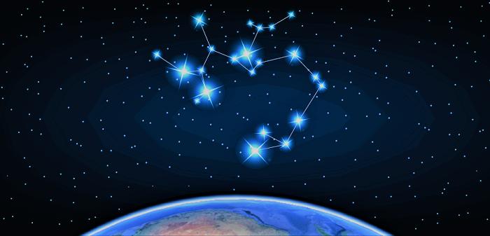 Созвездие в космосе