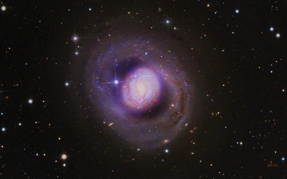 Спиральная Галактика М77 (Мессье 77)