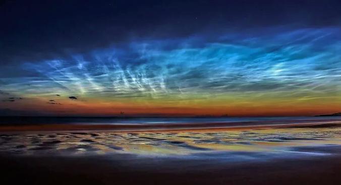 Мезосферные серебристые облака