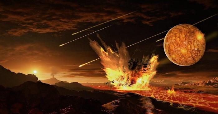 Планета земля 4 миллиарда лет назад