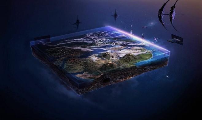 Плоская Земля (изображение)