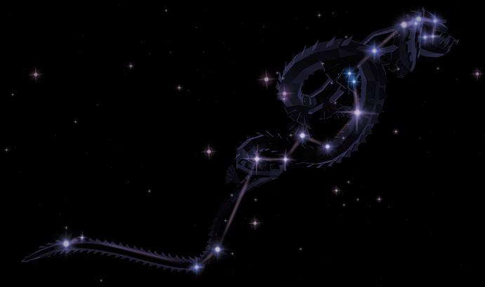 Созвездие Гидра