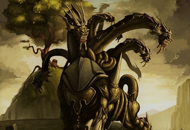 Дракон Ладон (изображение)