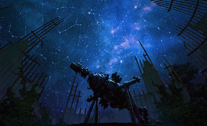Телескоп и созвездия