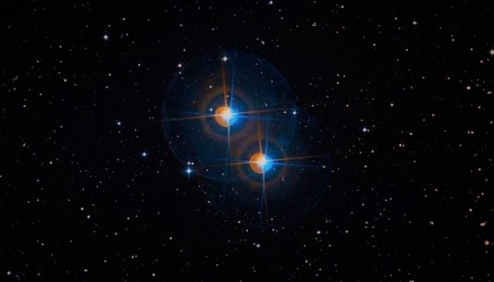 Дзета созвездия Сетка