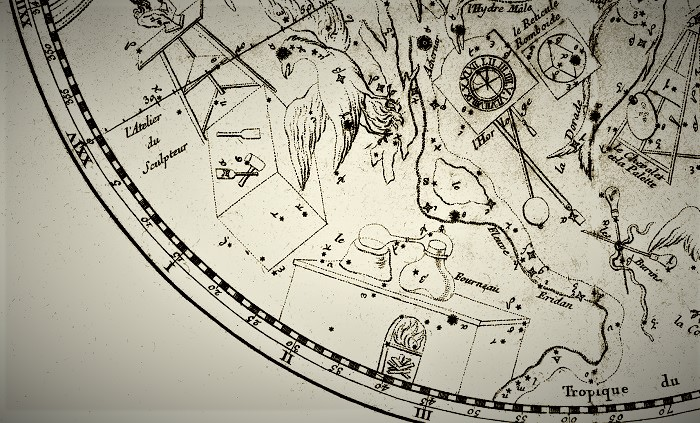 Звёздный атлас Лакайля (фрагмент)