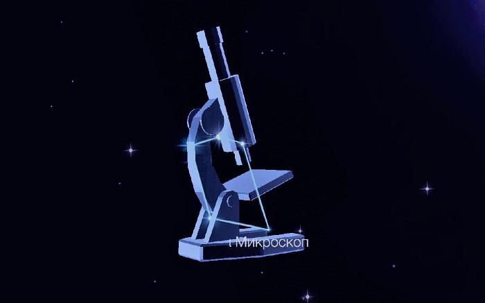 Созвездие Микроскоп