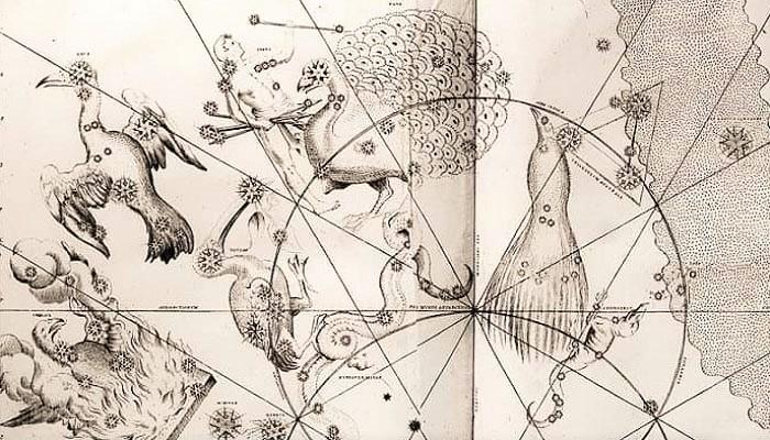 Фрагмент Уранометрии Байера