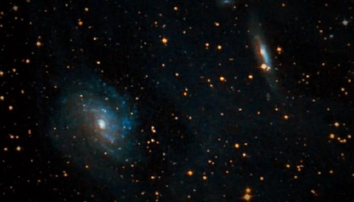 Галактики IC 4635 и IC 4633