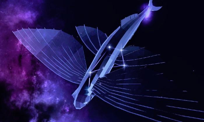Созвездие Летучая Рыба